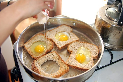 «Яйцо в корзине»
