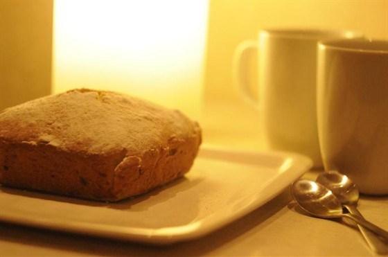 Ореховый кекс с изюмом