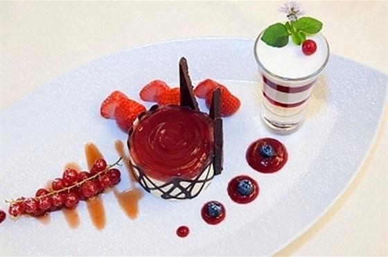 Баварезе с десертным вином