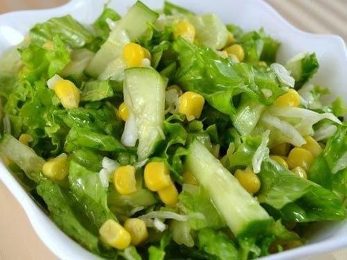 Салат с сельдереем и оливками