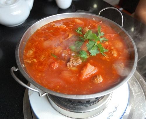 Суп с бараниной и овощами