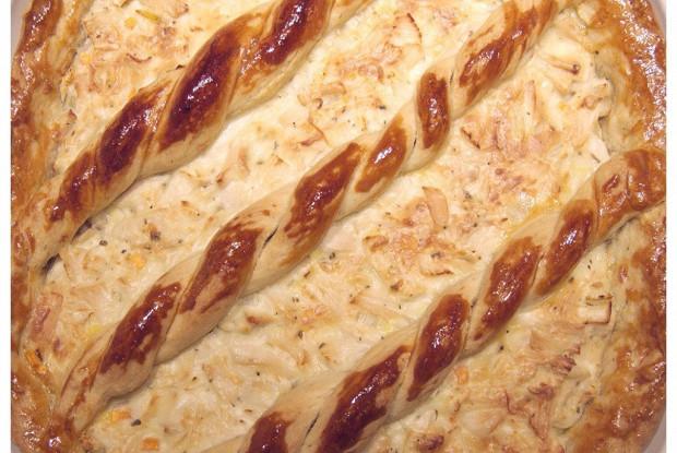 Курник (Открытый пирог с курицей)