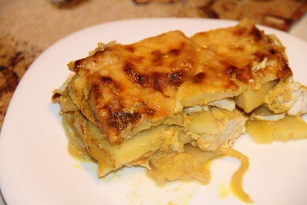 Картофельная запеканка с курицей рекомендации