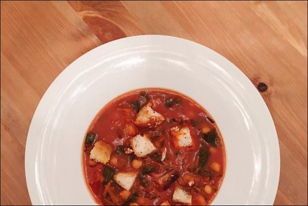 Марокканский нутовый суп
