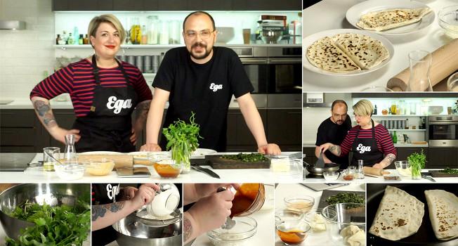 «Еда на ночь»: Елена Савчук в гостях у «Еды»