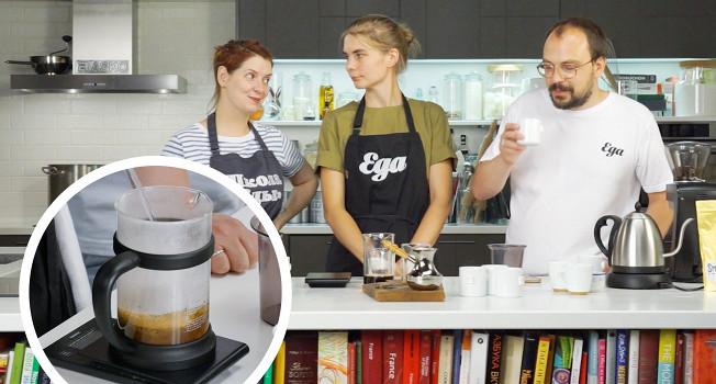 Анна Серова в гостях у «Еды»