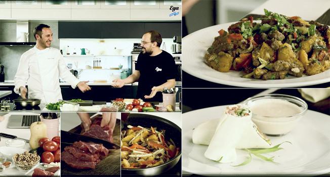 «Еда на ночь»: Бадри Лемонджава в гостях у «Еды»