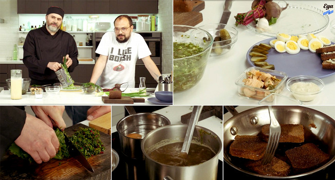 «Еда на ночь»: Олег Ольхов в гостях у «Еды»