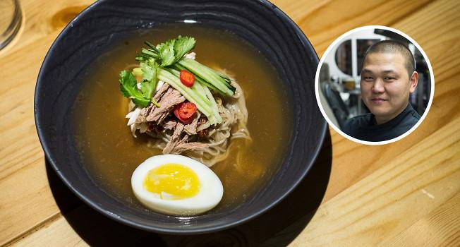 Как приготовить северокорейский суп нанмён