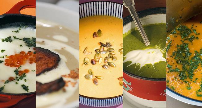 5 крем-супов