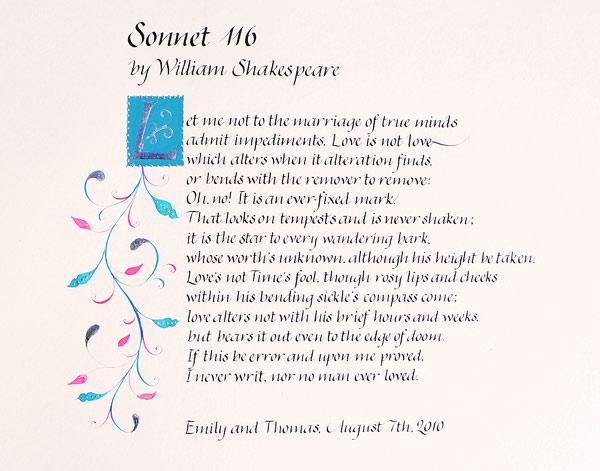 Write my sonnet 116 analysis essay