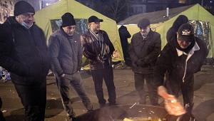 Вцентре Еревана появился палаточный лагерь