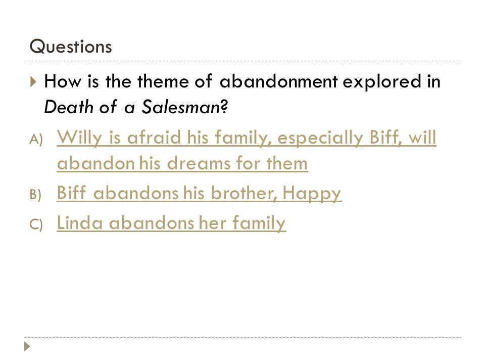 Essay questions on death of a salesman - WordPresscom