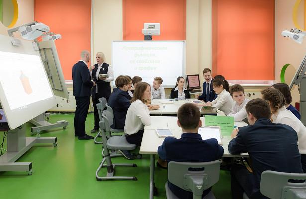 Собянин: Московские школы готовы кначалу учебного года