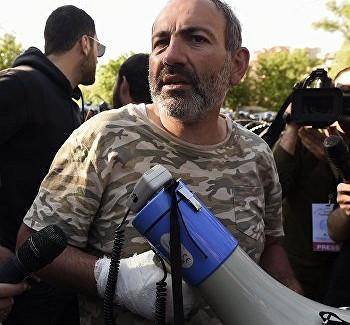 Правозащитник задержан вАрмении закритику Пашиняна