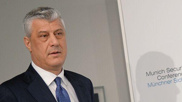 Небензя прокомментировал дело бывшего президента Косово Тачи