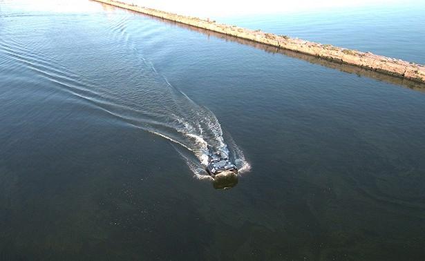 Опубликовано видео испытаний беспилотных катамаранов вФинском заливе