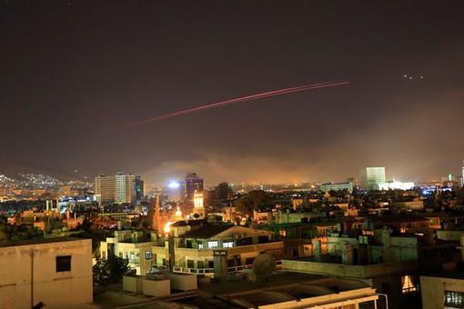 ПВОСирии отразила ракетную атаку Израиля