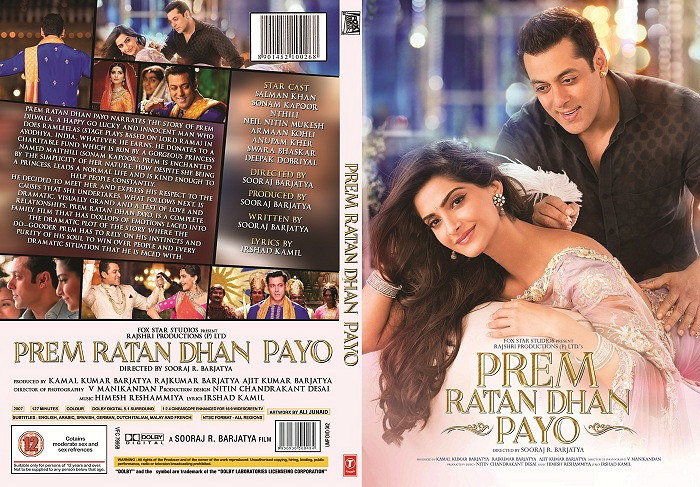 Prem Ratan Dhan Payo (2015) Full Movie Watch Online