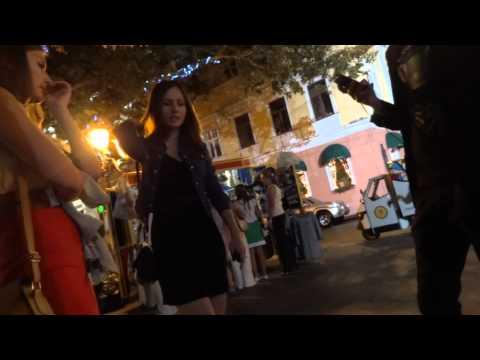 Смотреть порно случайное знакомство на улице