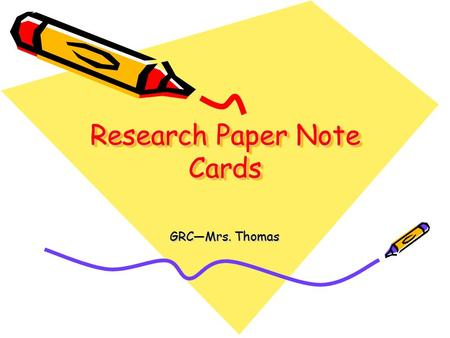 Write my what is a notecard in research paper