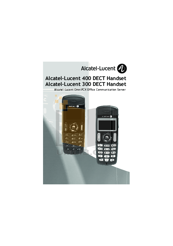 Alcatel ccs user manual