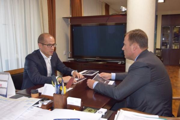 Бречалов иглава «Роскосмоса» обсудили перспективы сотрудничества