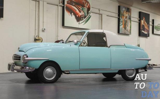 Легендарный автомобиль Playboy выставлен наторги