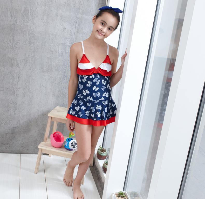 Teen Swimming Suit Models - Teen-8412