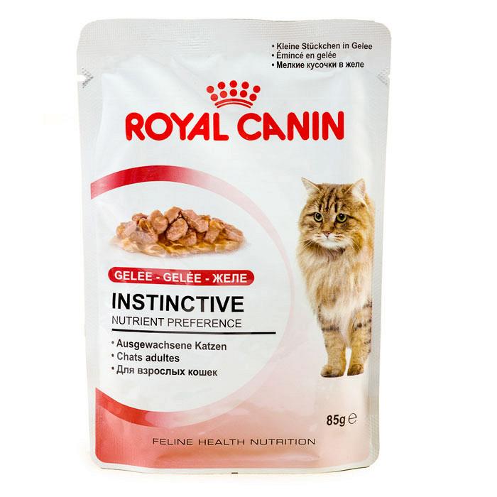 Корм royal canin instinctive kitten в желе