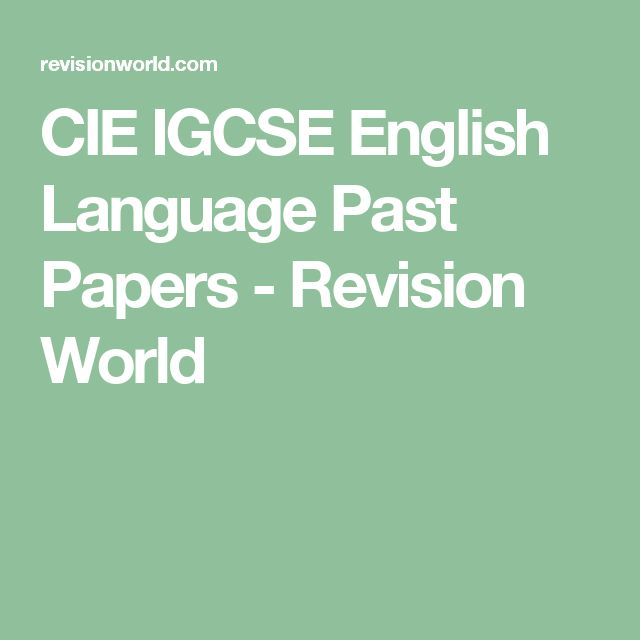 Ocr english language past paper