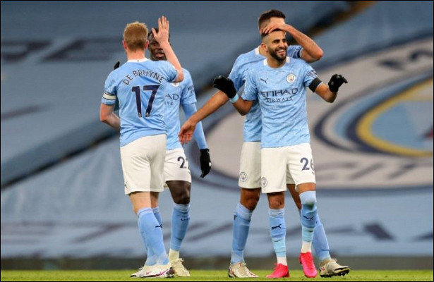 «Манчестер Сити» уничтожил «Бернли» благодаря хет-трику Махреза