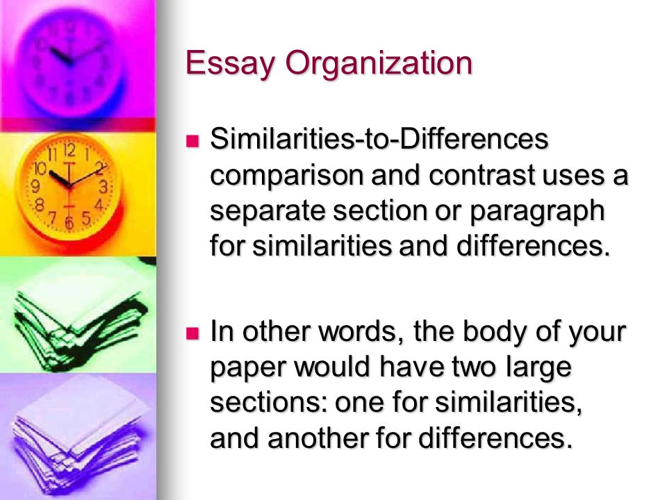 Write my essay writing differences and similarities