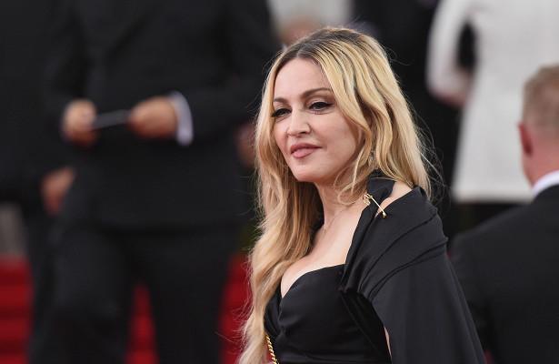 Мадонна спела в«автомобильном караоке»