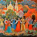 «Лики любви русской деревни»