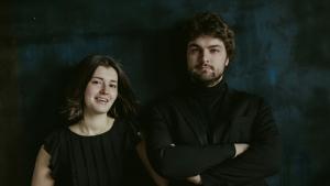 «Два рояля»: Лукас Генюшас и Анна Генюшене