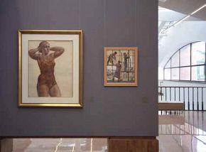 Постоянная экспозиция и временные выставки в ИРРИ